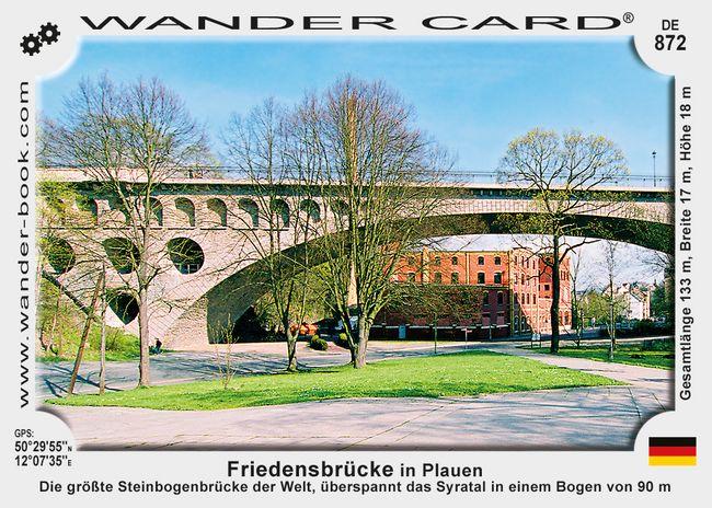Friedensbrücke in Plauen