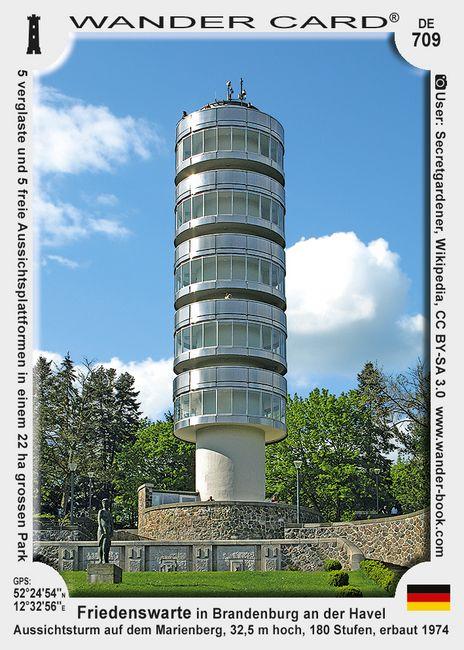 Friedenswarte in Brandenburg an der Havel