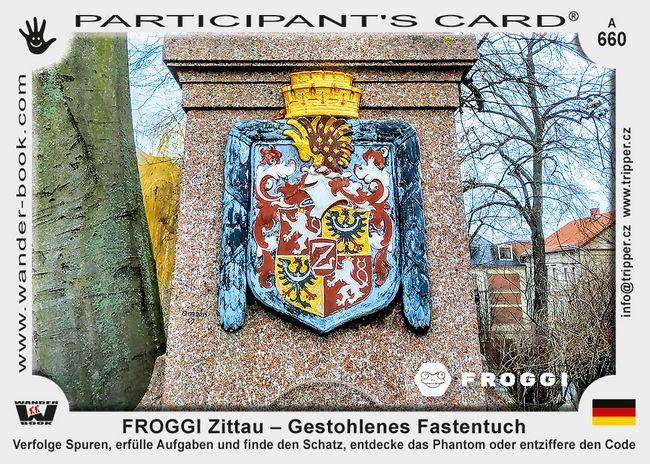 FROGGI Zittau – Gestohlenes Fastentuch