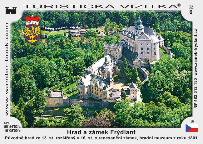 Frýdlant hrad a zámek