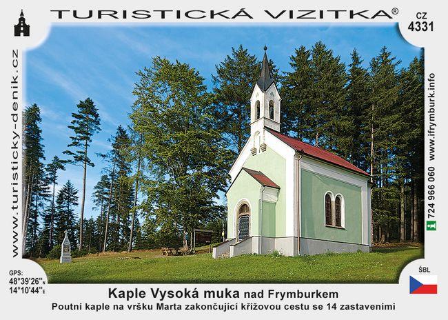 Kaple Vysoká muka nad Frymburkem