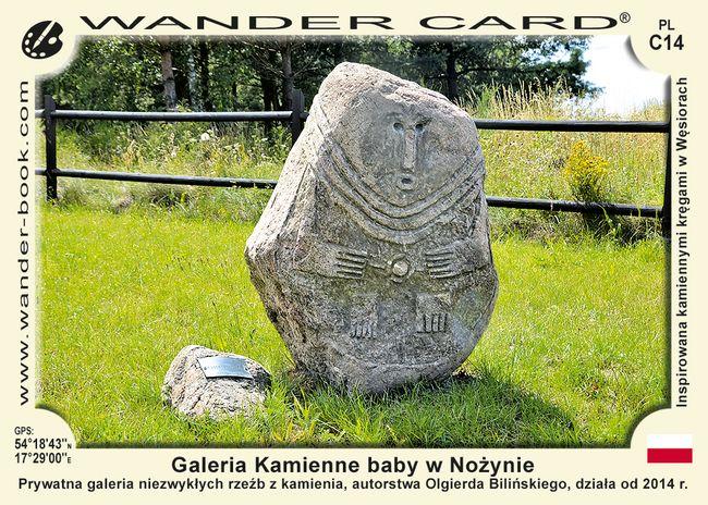 Galeria Kamienne baby w Nożynie