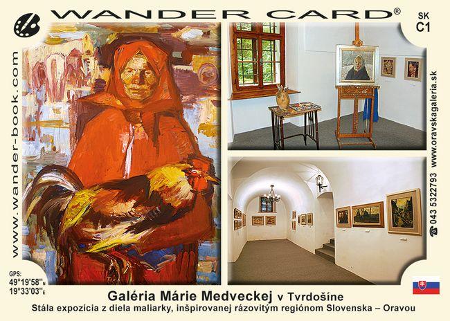 Galéria Márie Medveckej v Tvrdošíne