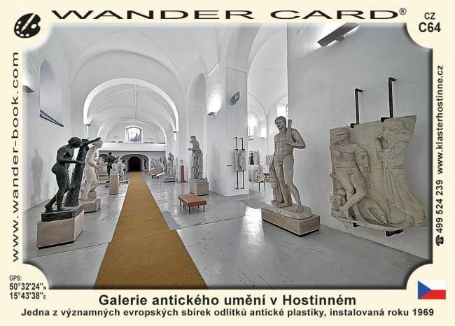 Galerie antického umění v Hostinném