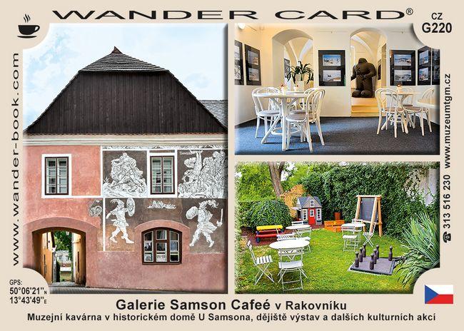 Galerie Samson Cafeé v Rakovníku