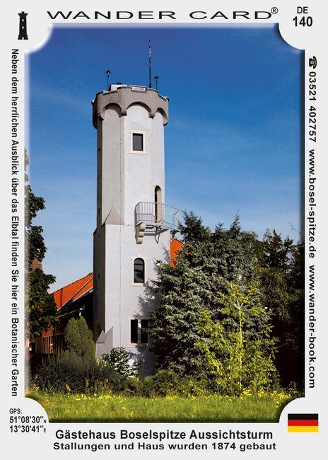 Gasthaus Boselspitze mit Aussichtsturm