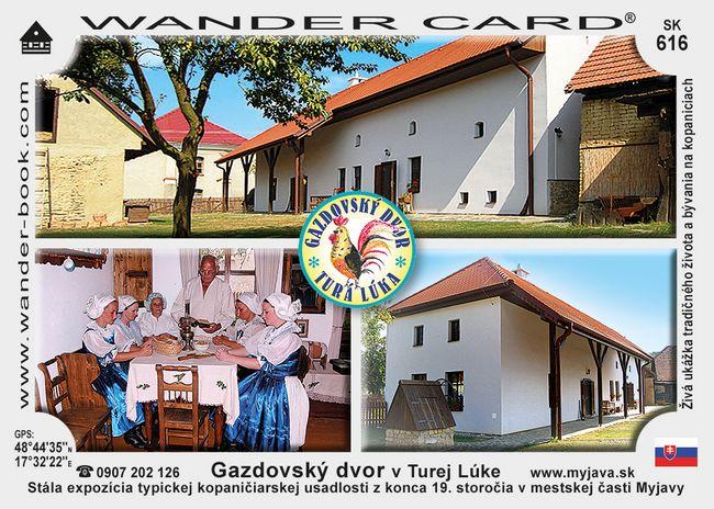 Gazdovský dvor v Turej Lúke