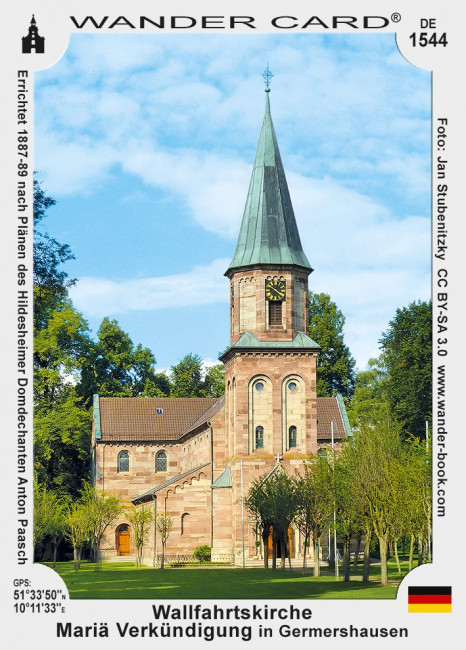 Wallfahrtskirche Mariä Verkündigung in Germershausen