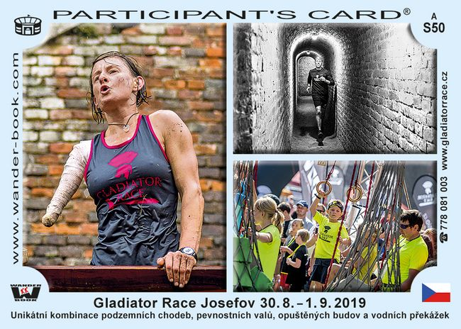 Gladiator race Josefov 2019