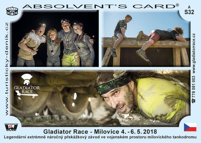 Gladiator race Milovice 2018
