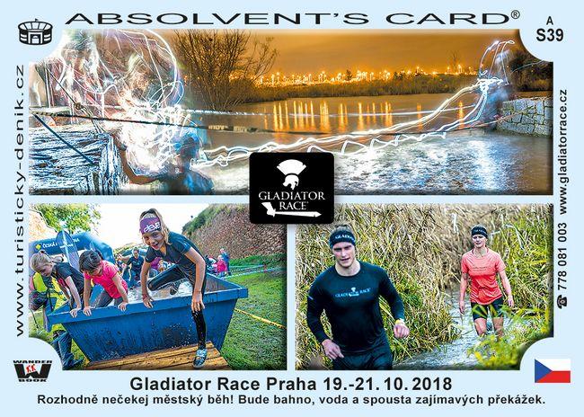 Gladiátor race Praha 2018