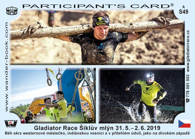 Gladiator race Šiklův mlýn 2019