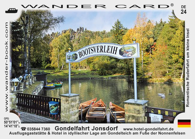 Gondelfahrt Jonsdorf