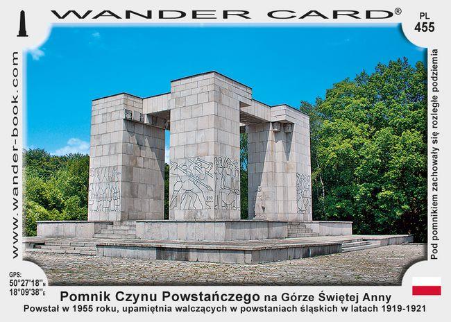 Góra św Anny pomnik