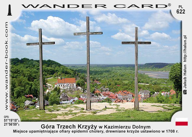 Góra Trzech Krzyży w Kazimierzu Dolnym
