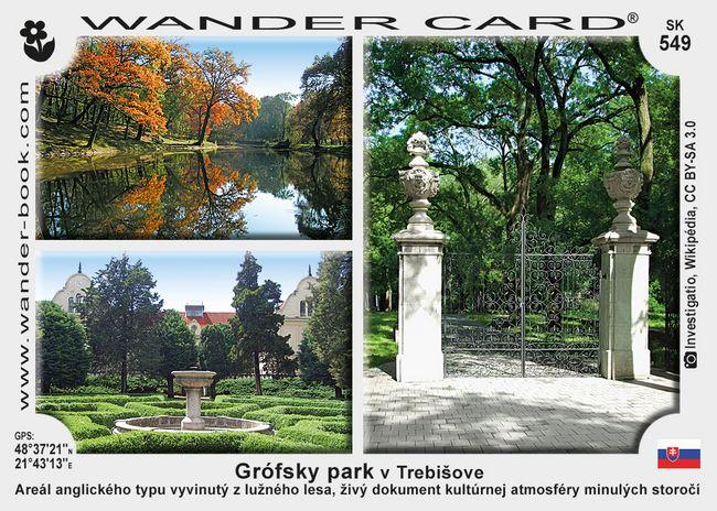 Grófsky park v Trebišove