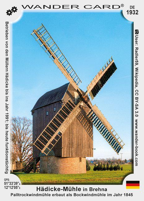 Hädicke-Mühle in Brehna