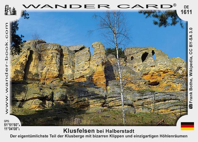 Halberstadt Klusfelsen