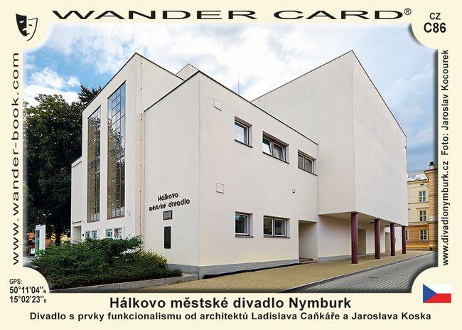 Hálkovo městské divadlo Nymburk