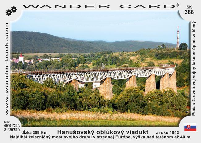 Hanušovský oblúkový viadukt