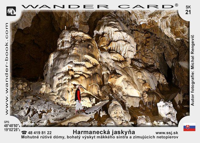 Harmanecká jaskyňa