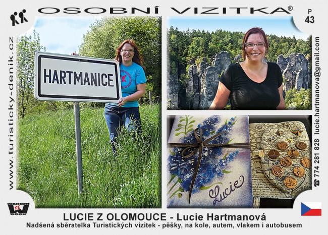 Hartmanová Lucie - Lucie z Olomouce
