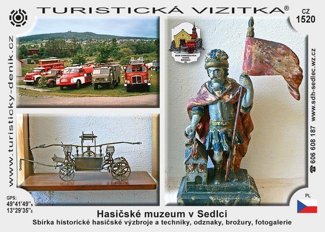 Hasičské muzeum v Sedlci