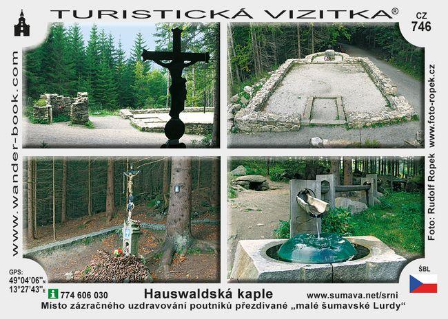 Hauswaldská kaple u Srní