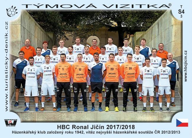 HBC Ronal Jičín 2017-2018