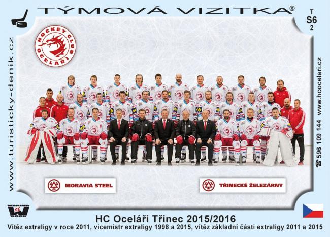 HC Oceláři Třinec 2015/2016