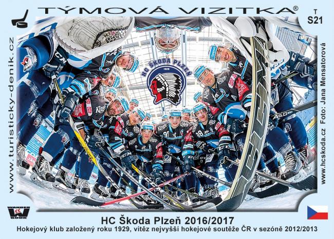 HC Škoda Plzeň 2016/2017