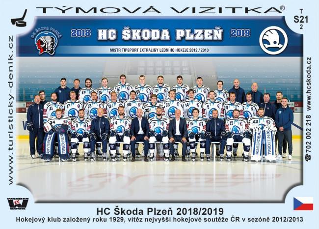 HC Škoda Plzeň 2018/2019
