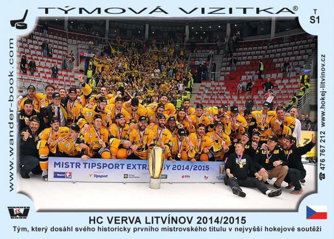 HC Verva Litvínov 2014/2015 D