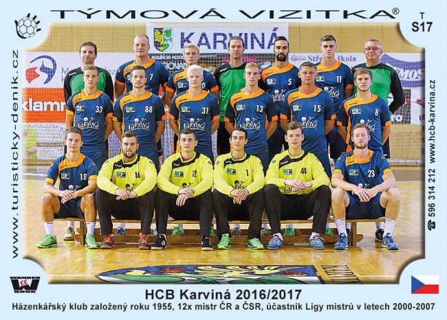 HCB Karviná 2016/2017
