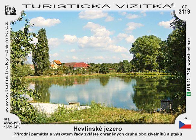 Hevlínské jezero