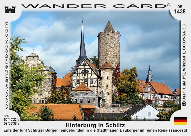 Hinterburg in Schlitz