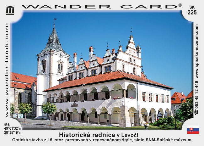 Historická radnica v Levoči