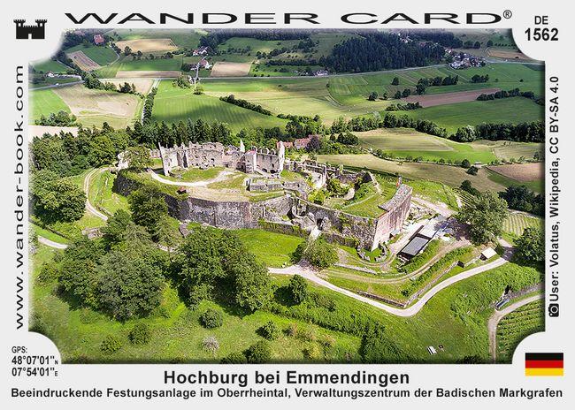 Hochburg - auch Burg Hachberg