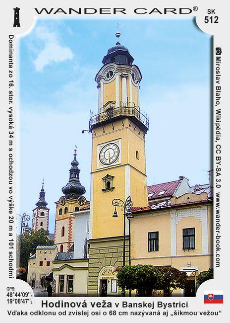 Hodinová veža v Banskej Bystrici