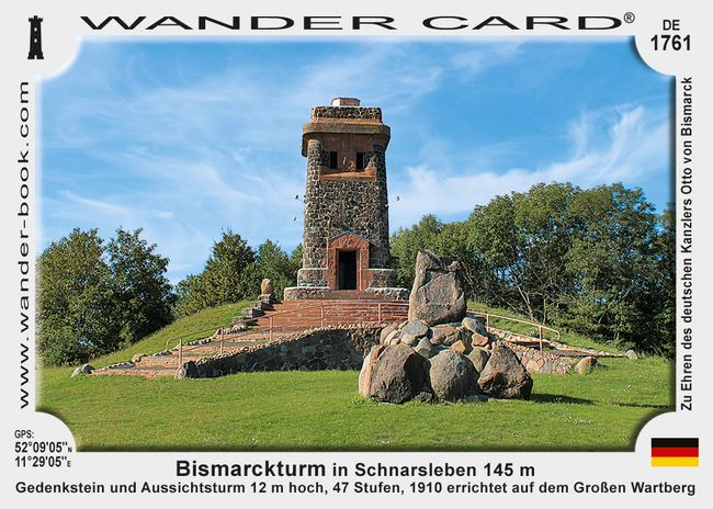 Bismarckturm in Schnarsleben