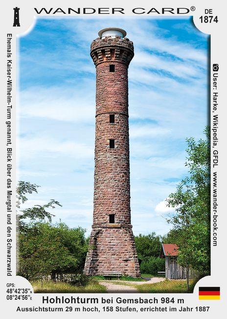 Hohlohturm bei Gemsbach