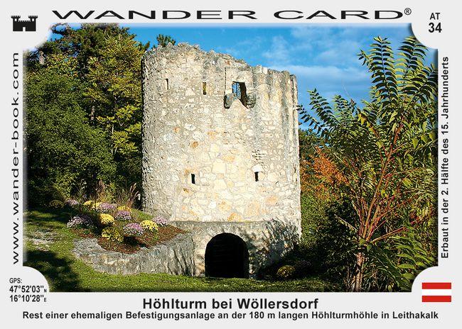 Höhlturm bei Wöllersdorf