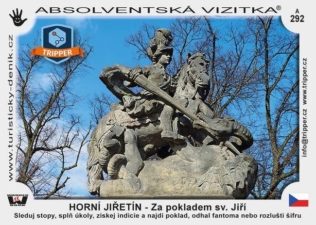 TRIPPER Horní Jiřetín – Za pokladem sv. Jiří