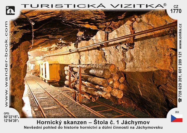 Hornický skanzen -  Štola č.1. Jáchymov