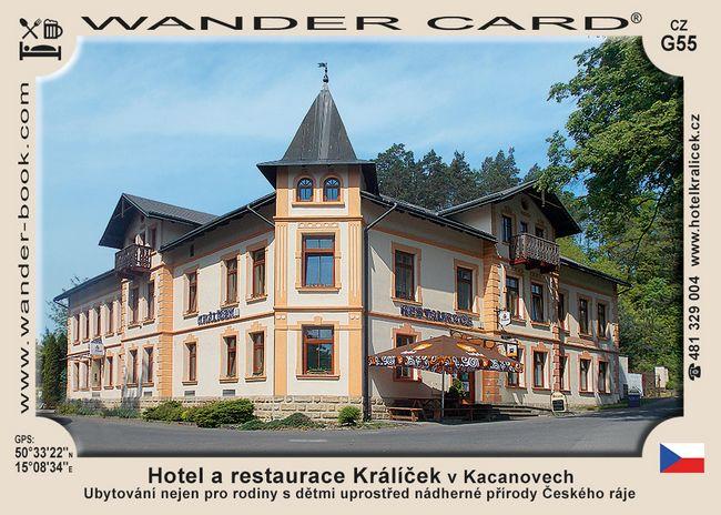 Hotel a restaurace Králíček v Kacanovech