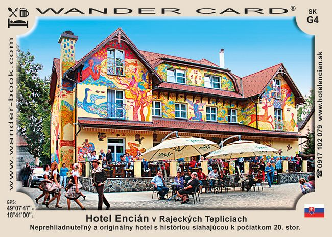 Hotel Encián v Rajeckých Tepliciach