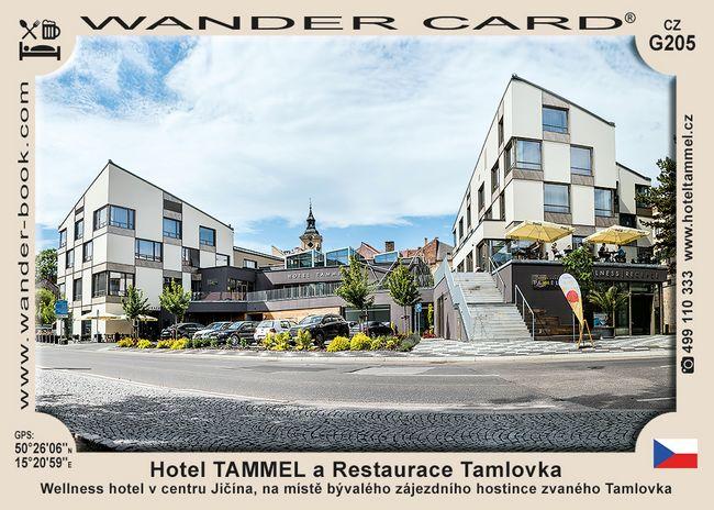 Hotel TAMMEL a restaurace Tamlovka