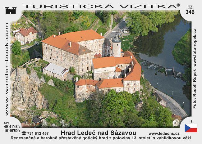 Hrad Ledeč nad Sázavou