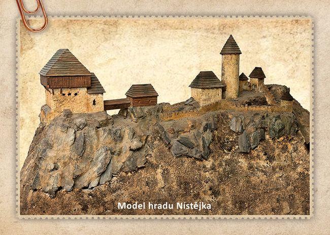 Model hradu Nístějka