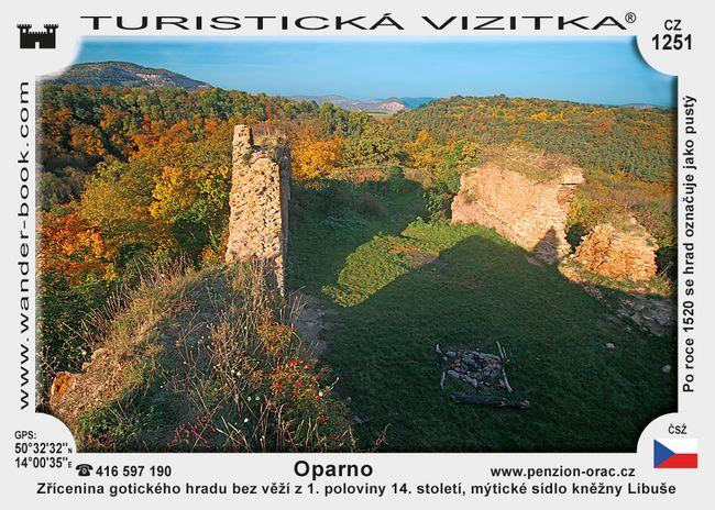 Hrad Oparno